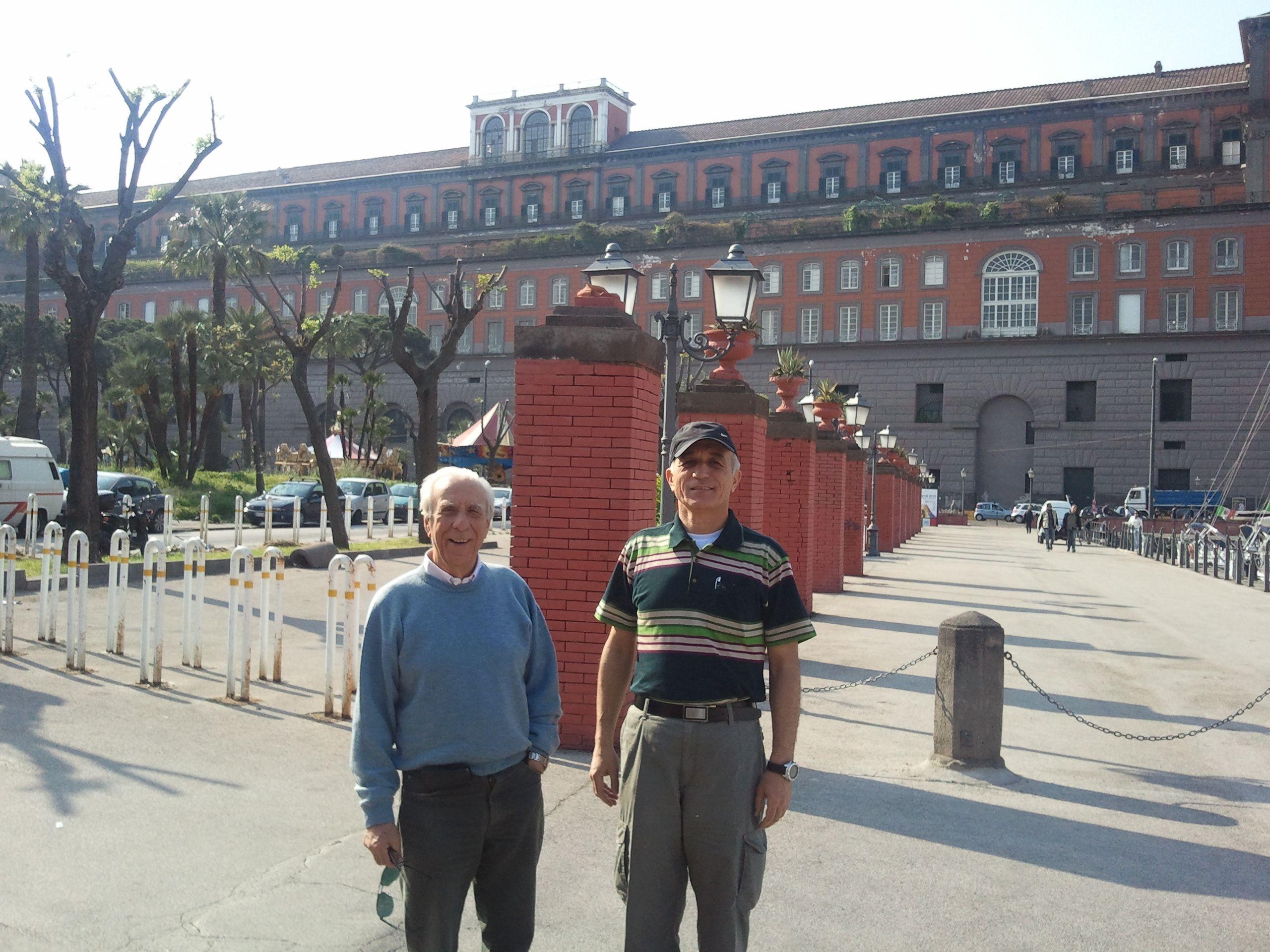adm. Schettimo ed io a Napoli, 2012
